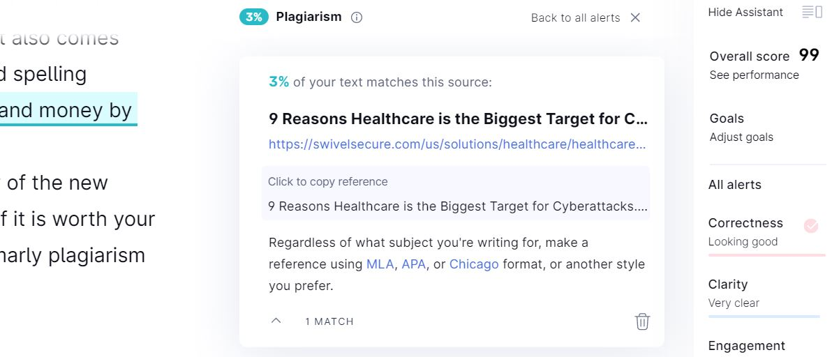 Everything About Grammarly Plagiarism Checker 5
